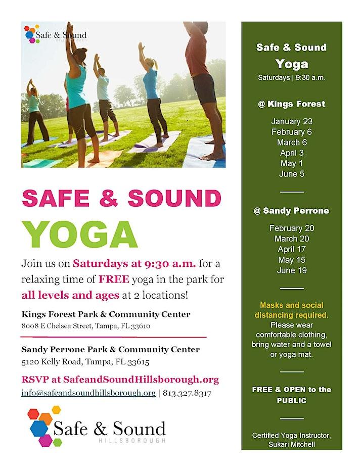 Safe & Sound Yoga image