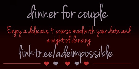 Valentines Romantic Dinner and Dance Party tickets