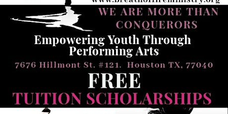 Breath Of Fire Ministry In the Arts : I.D ME Free Youth  Scholarships tickets