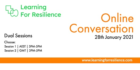 Learning for Resilience | Conversation tickets