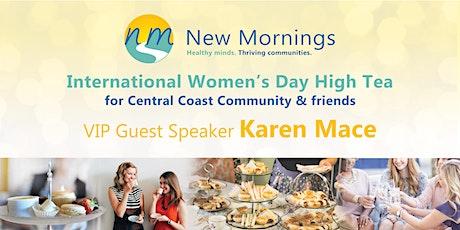 High Tea - International Women's Day tickets