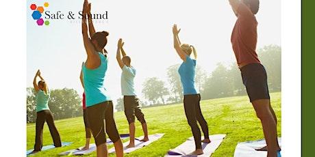 Safe & Sound Yoga tickets