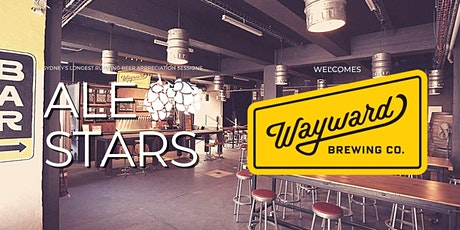 Ale Stars #134 - Wayward Brewing Co. tickets