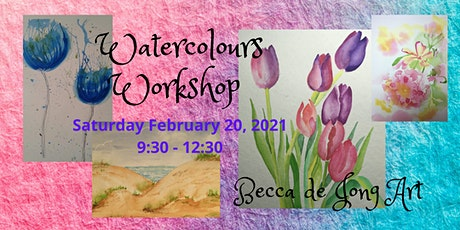 Watercolours Painting Workshop tickets