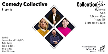 Comedy Collective Presents - Feb 9 @ the Collection Bar tickets