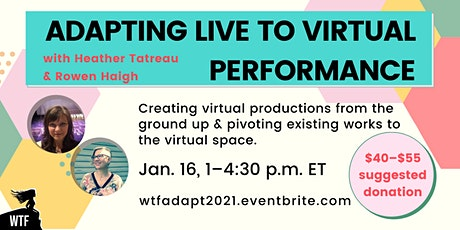Adapting Live to Virtual Performance tickets