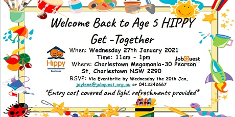 HIPPY Age 5 2021 Get-Together-Charlestown Megamania! tickets