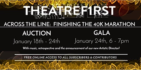 A TheatreFIRST Gala: The $40K Marathon tickets