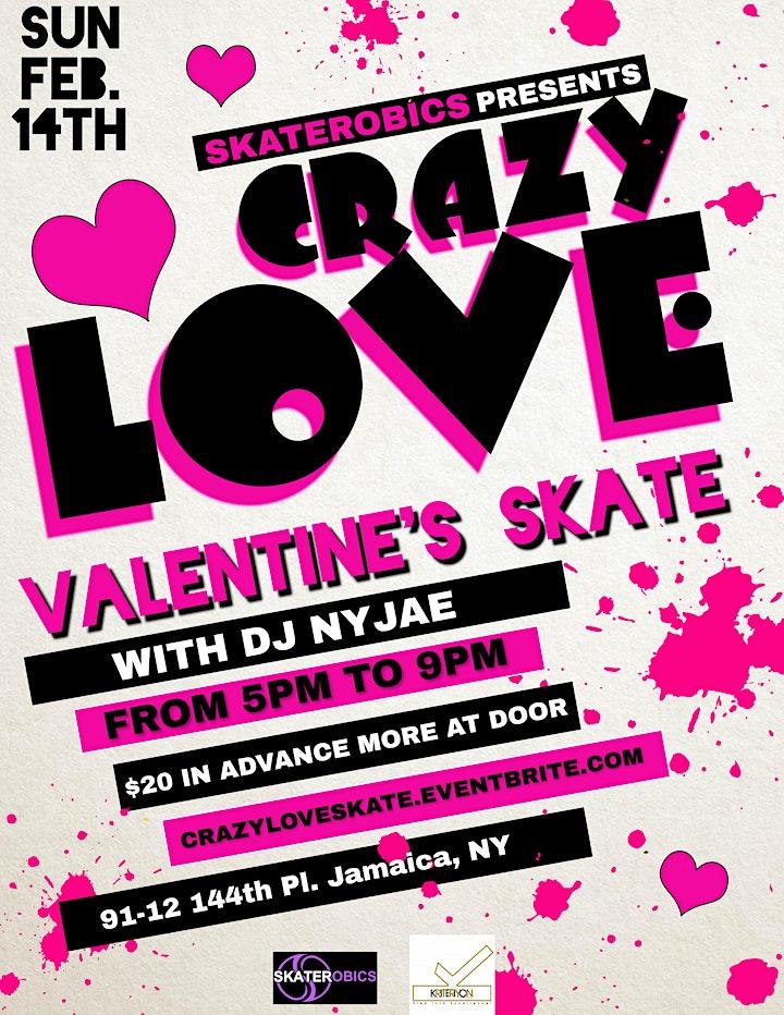 SKATEROBICS CRAZY LOVE VALENTINE'S SKATE image