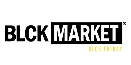BLCK Market Houston - Black Friday tickets