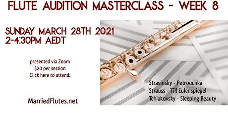 Flute Audition Masterclass #8 tickets