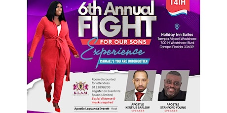 2021 FIGHT FOR OUR SONS EXPERIENCE tickets