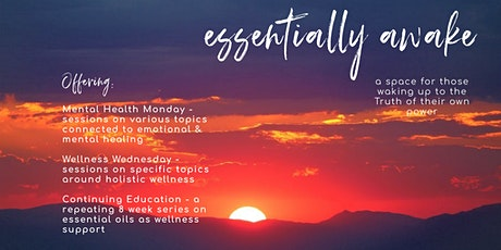 Wellness Wednesday - exploring aspects of holistic wellness tickets