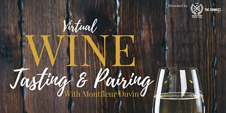 Virtual Wine Tasting and Pairing with Montfleur Duvin tickets