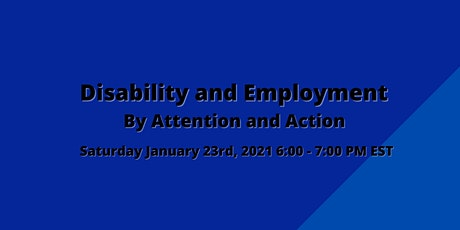 Disability and Employment tickets
