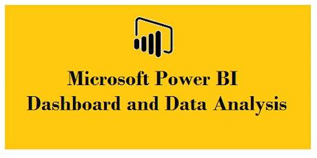 Microsoft Power BI Dashboard&Data Analysis 2Day Virtual Training - Sydney tickets