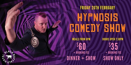 Comedy Hypnosis Show at Black Buffalo Hotel tickets