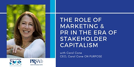 The Role of Marketing and PR in the Era of Stakeholder Capitalism tickets