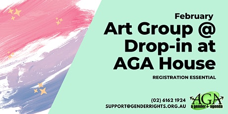 Art Group @ February Drop-In with AGA tickets