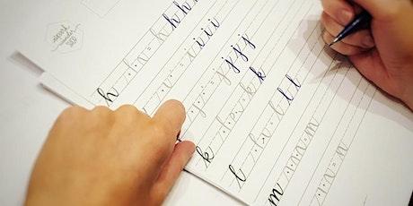 Intro to Modern Brush Calligraphy Workshop tickets