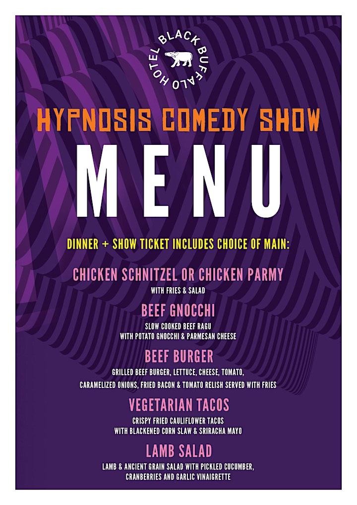 Comedy Hypnosis Show at Black Buffalo Hotel image