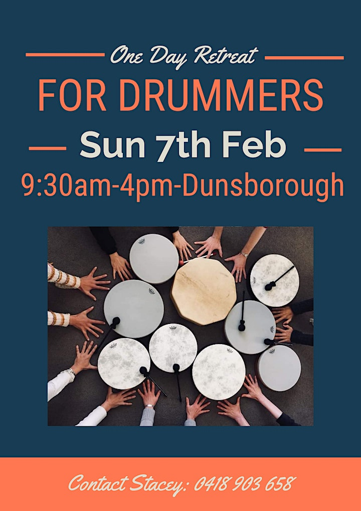 One Day Retreat - For Drummers image