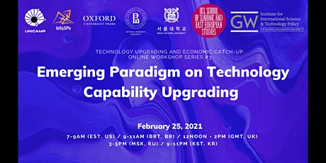 Emerging Paradigm on Technology Capability Upgrading (#3) tickets