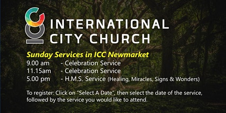 Sunday Services at International City Church Newmarket tickets
