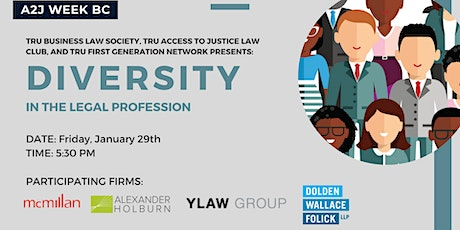 Diversity in the Legal Profession tickets