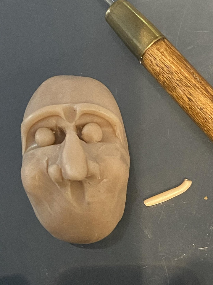 Sculpting a face for beginners image