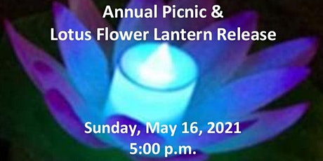 Annual Picnic &  Lotus Flower Lantern Release tickets