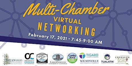Multi-Chamber Virtual Networking Feb. 17, 2021 tickets