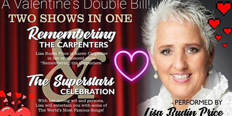 Remembering the Carpenters & Superstars Celebration - A Valentine's Double tickets