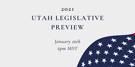 ELI 2021 Utah Legislative Preview tickets