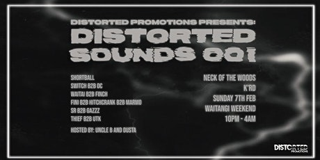 Distorted Promotions Presents: Distorted Sounds 001 tickets