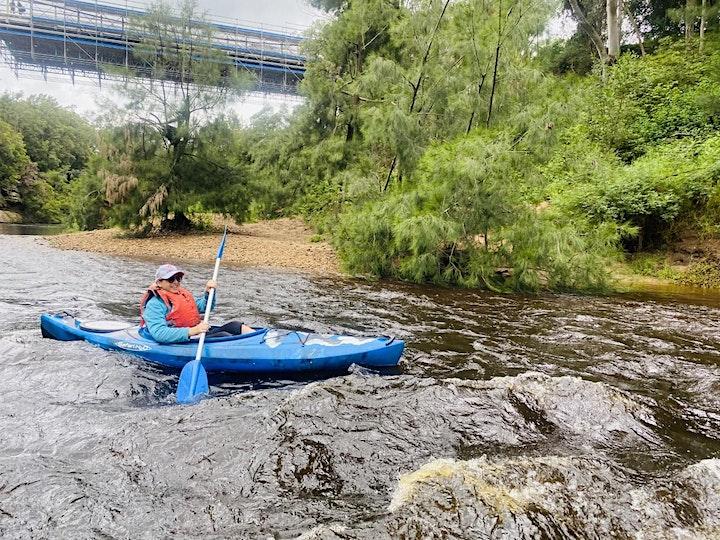 Women's Easy Rapids Kayaking // Saturday 8th May image