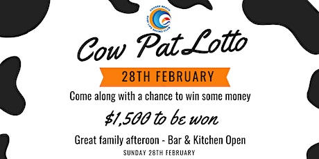 Cow Pat Lotto tickets