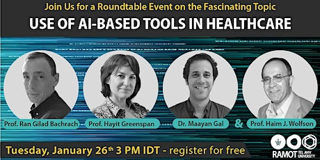 Roundtable Virtual Event- Use of AI-Based Tools in Healthcare tickets