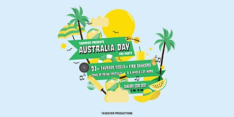 TakeOver - Pre AusDay Party tickets