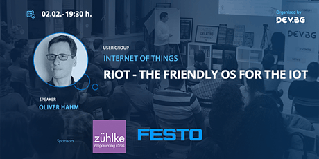 Webinar: RIOT - The friendly OS for the IoT tickets