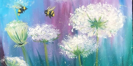 Chill & Paint Sat Night  Auck  City  - Summer Bees! tickets