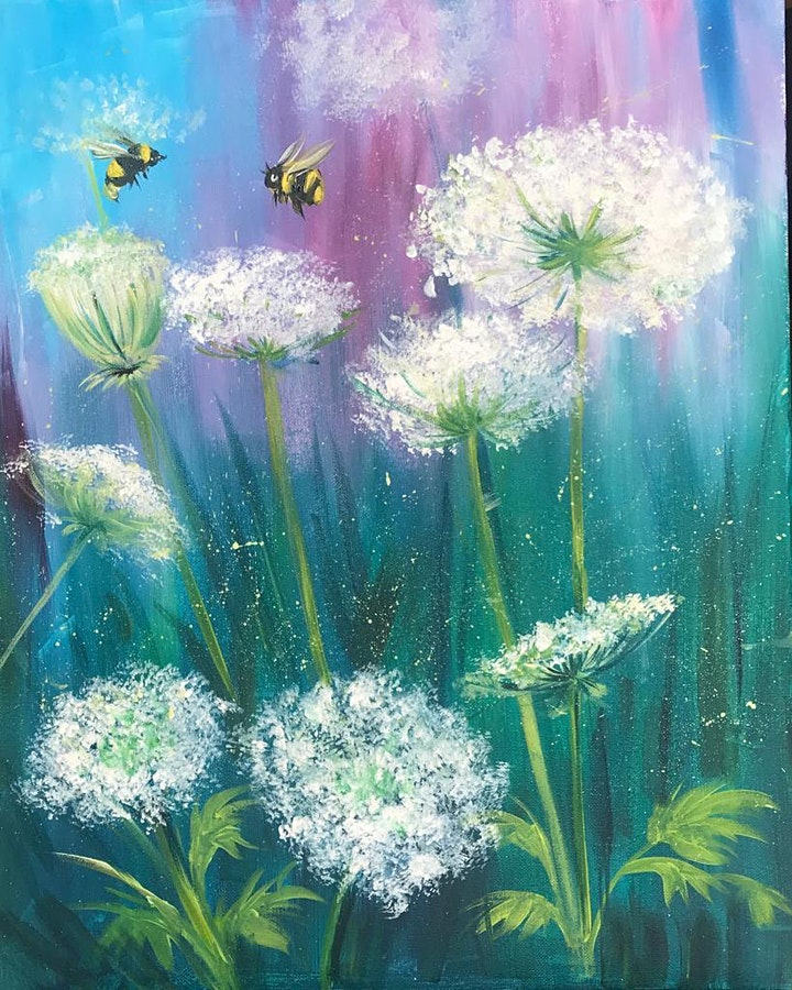 Chill & Paint Sat Night  Auck  City  - Summer Bees! image