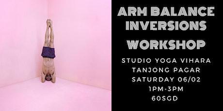 Arm balance & Inversions Workshop tickets
