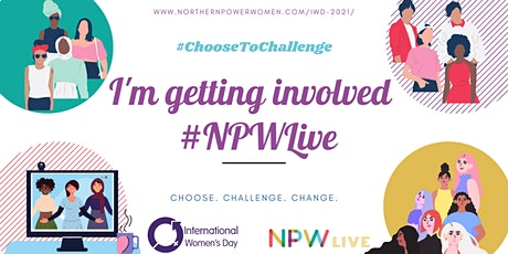 NPWLive - Register to get advice on your future career options on IWD! tickets
