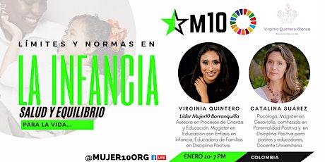 """Virginia Quintero  nos enseña los """"límites y normas en la infancia"""" boletos"""