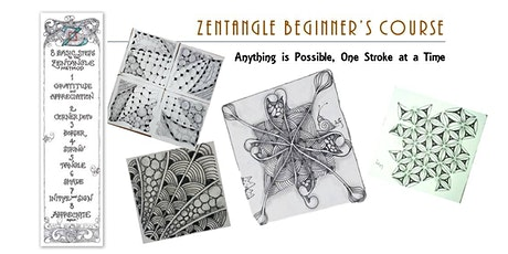 Zentangle®  Essential: Beginners' Course(ONLINE)  禅绕画初阶课(线上) -8/8/21 tickets