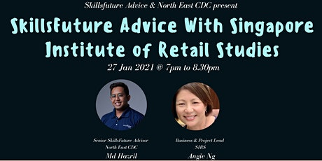 SkillsFuture Advice With Singapore Institute of Retail Studies tickets