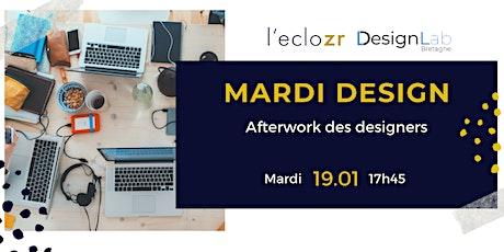 Mardi Design : Afterwork des designers billets