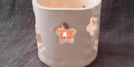 Tea Light Holder | Pottery Workshop w/ Siriporn Falcon-Grey tickets