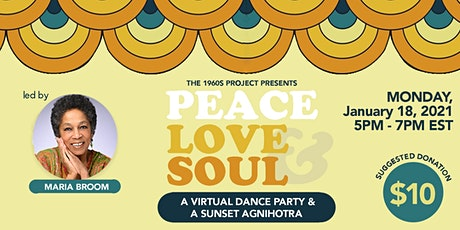 Peace, Love & Soul - A Virtual Dance Party tickets